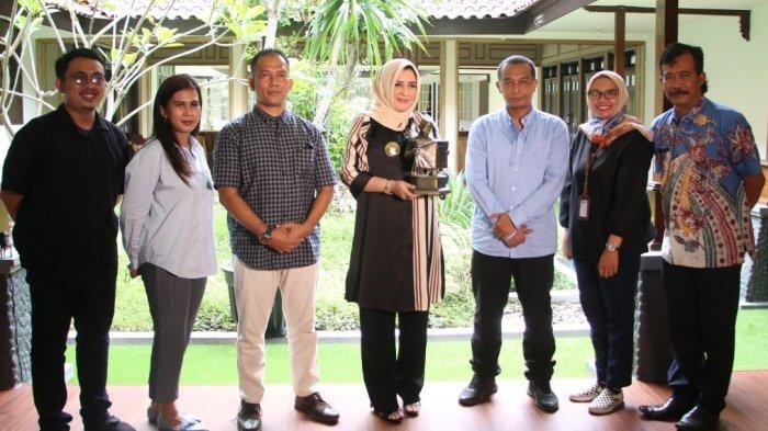 Pimpinan Tribun Jateng Silaturahmi ke Pekalongan, Disambut Hangat Bupati Fadia Arafiq