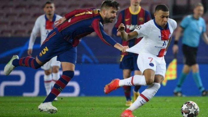 Hasil Liga Champion, Barcelona vs PSG: Messi dkk Hancur Lebur di Camp Nou, Mbappe Cetak Hattrick