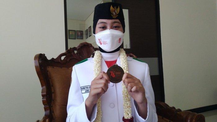 Profil dan Sosok Rahmatika Hendrianabila, Paskibraka di Istana Merdeka Asal SMAN 1 Boja Kendal