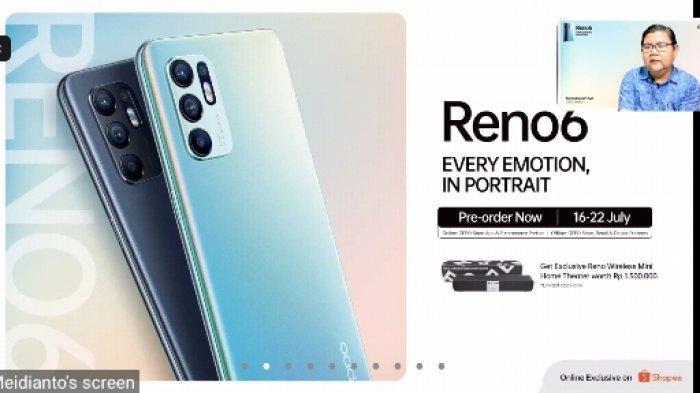 Oppo Reno6 Sudah Meluncur ke Pasaran, Ini Harga dan Spesifikasinya