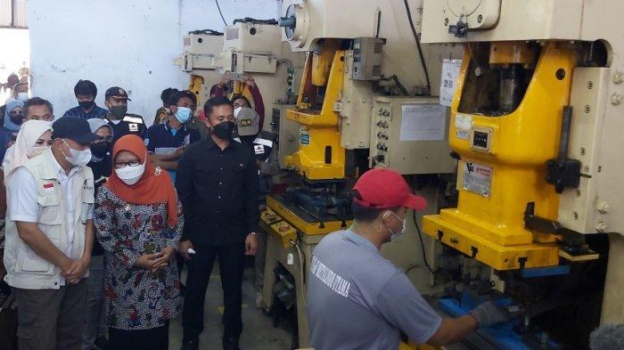 Kata Menteri Tetan Kabupaten Tegal Punya Potensi Jadi Sentral Industri Logam Nasional