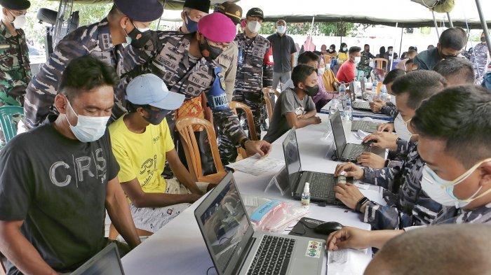 Siap Datangkan 30.000 Dosis, TNI AL Minta Pemkab Tegal Bikin Aplikasi Pendaftaran Vaksinasi Online