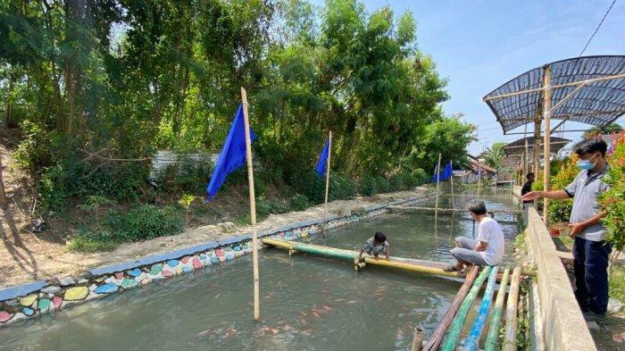 Kawasan Budidaya Ikan Nila Desa Kaligayam Tegal Akan Tambah Bibit dan Jadi Spot Foto Selfie