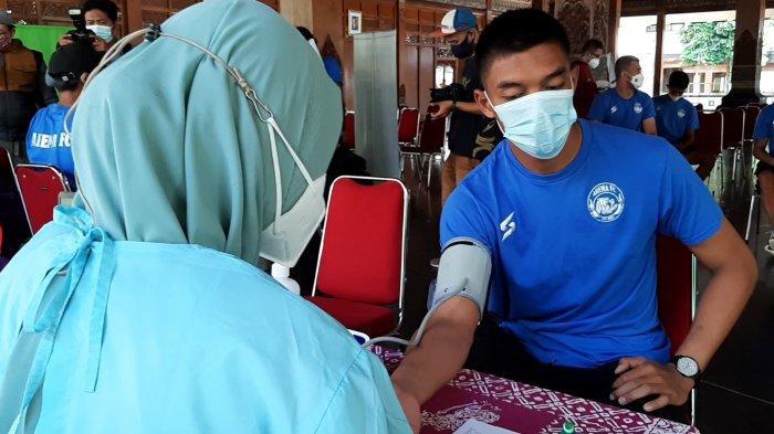Tim Peserta Piala Menpora 2021 Divaksin di Pendapi Balai Kota Solo, Dinkes: Tersedia 297 Dosis