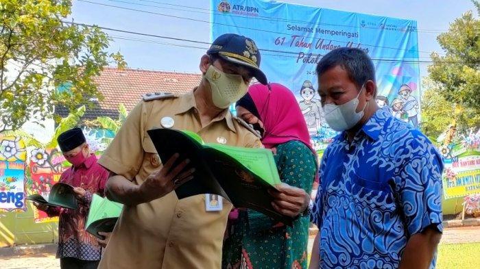 Program PTSL 2021, BPN Batang Target Pendaftaran 71.530 Sertifikat Tanah, Bagaimana Realisasinya?