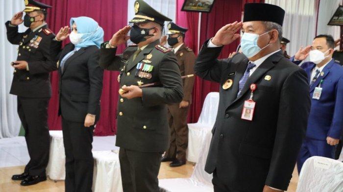 Ikut Upacara Virtual HUT ke-76 TNI, Wawali Pekalongan: Terus Jalin Sinergitas dan Kolaborasi