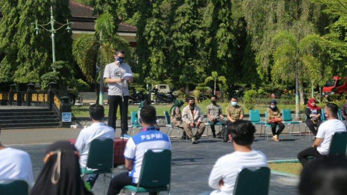 100 Pemuda IKuti Pembekalan Wirausaha, Wabup Tegal Ardie: Semoga Jadi Entrepreneur Produktif