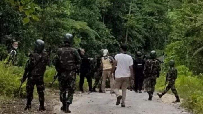 Kapendam Sebut Anggota KNPB Lari ke Hutan Bawa Senjata Api Masing-masing Pascaserang Posramil Kisor