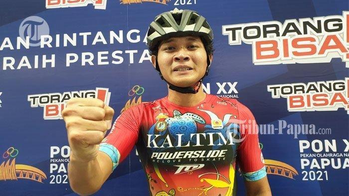 Cabor Sepatu Roda Persembahkan Medali Emas untuk Kaltim di PON Papua, Atlet: Hari Ini Terbalas Sudah