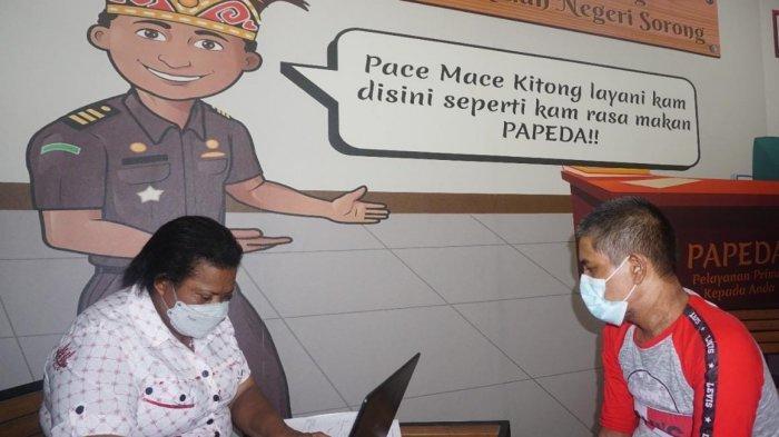 Kasus Oknum Polisi Bakar Istri Dilimpahkan ke Kejaksaan Negeri Sorong