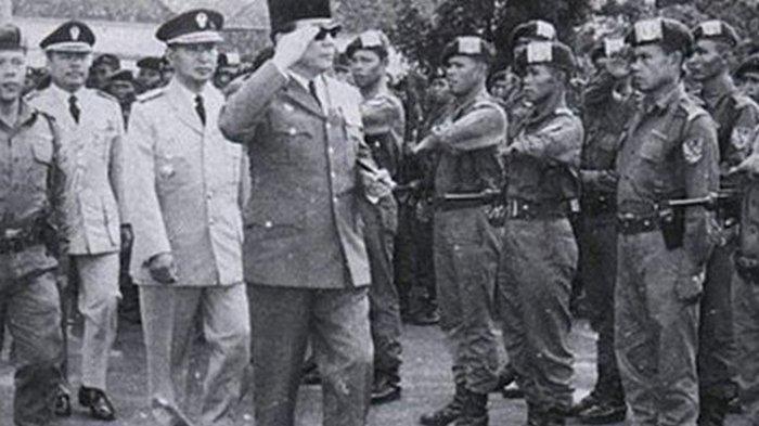 Terseret dalam Peristiwa G30S, Inilah Sejarah Resimen Cakrabirawa Pengawal Presiden Soekarno