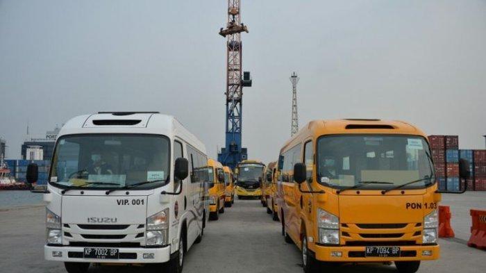 Kirim 428 Bus untuk Dukung PON XX Papua 2021, Menhub: Untuk Transportasi Atlet dan Ofisial