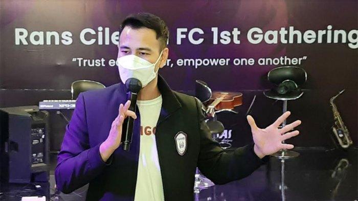 RANS Cilegon FC Kalah di Laga Perdana Liga 2, Raffi Ahmad Harapkan Ini di Pertandingan Selanjutnya