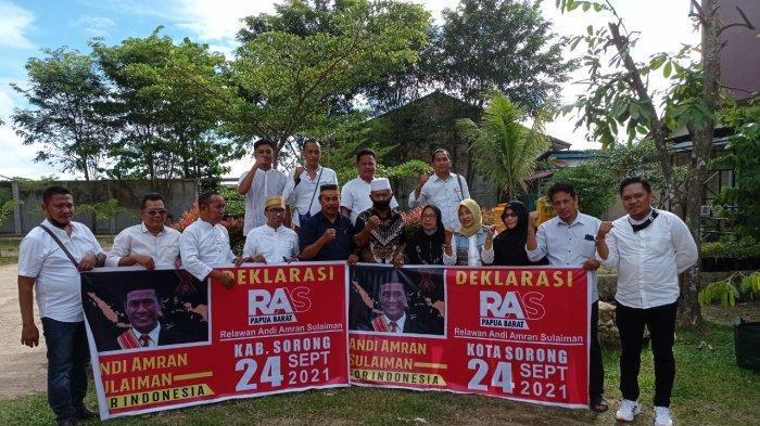 Sejumlah Masyarakat di Sorong Deklarasikan Eks Mentan Amran Sulaiman sebagai Cawapres RI 2024