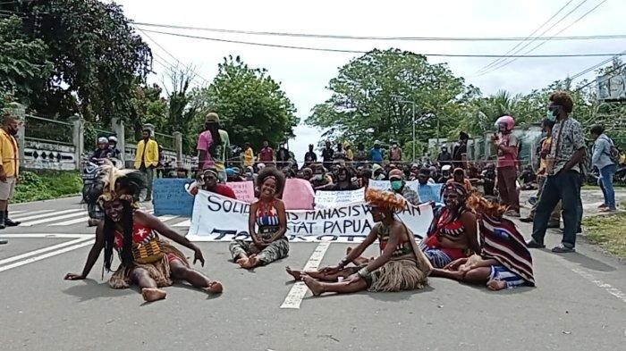 Tak Ditemui MRPB, Massa Aksi Tolak Otsus di Manokwari Ancam akan Kembali ke Jalan
