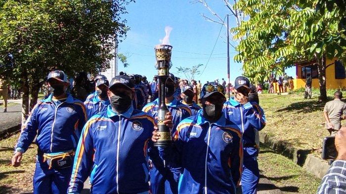 Bawa Api PON XX Papua Menuju 5 Wilayah Adat, 2 Legenda Sepakbola Persipura: Kami Bangga