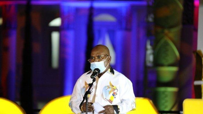 Penjelasan Jubir soal Suara Serak Gubernur Papua di Pembukaan PON XX: Beliau Terharu dan Bangga