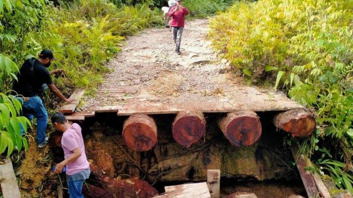 Sebelum Serang Aparat, KNPB Terlebih Dulu Rusak Jembatan Penyeberangan di Maybrat Papua Barat