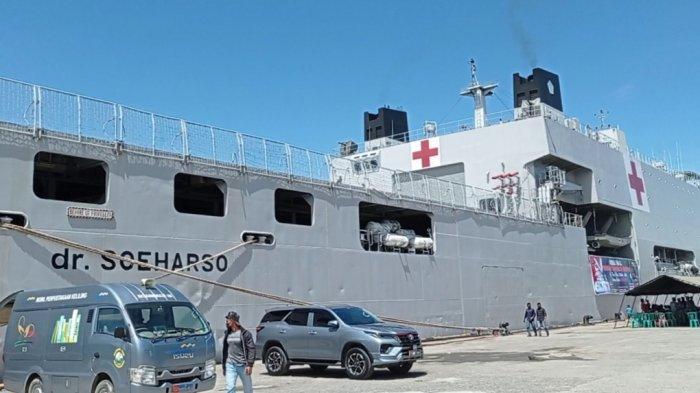 Dukung PON Papua, KRI Soeharso dengan Daya Tampung 200 Pasien akan Disiagakan di Jayapura
