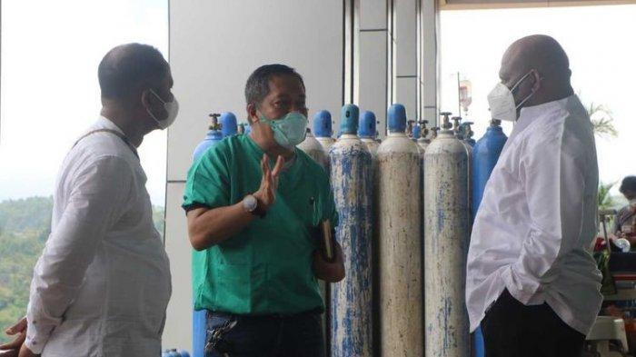 Pasokan Tak Mencukupi, Kota Jayapura Kekurangan 200 Tabung Oksigen Per Hari
