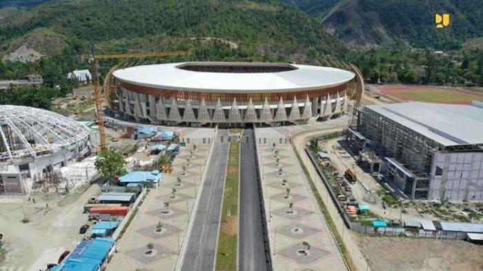 Stadion Lukas Enembe Bakal Jadi Venue Pusat Kegiatan PON XX Papua 2021