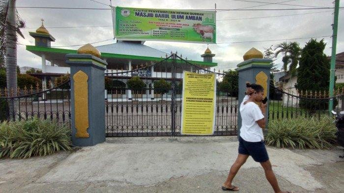 Sejumlah Masjid di Manokwari Hentikan Kegiatan Ibadah Sementara Selama PPKM