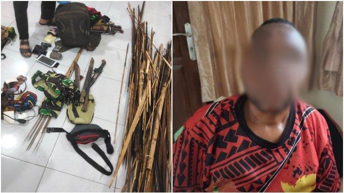 Satgas Nemangkawi Tangkap Oknum ASN yang Diduga Jadi Pemasok Senjata KKB, Simpan Amunisi di Rumah