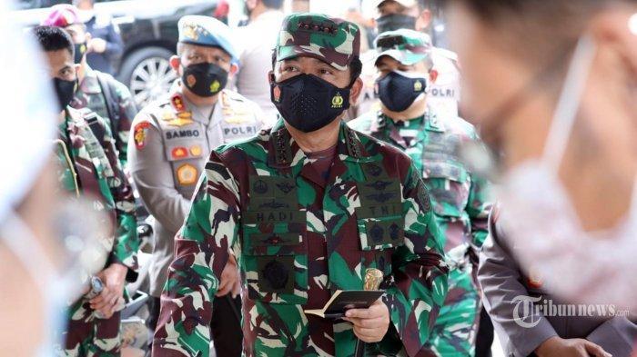 Ingatkan soal Disiplin Prokes saat PON XX Papua, Panglima TNI: Harus Punya Kesadaran Tinggi