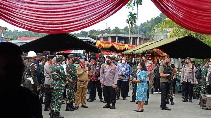 Panglima TNI dan Kapolri Tiba di Sorong untuk Tinjau Penanganan Covid-19 di Papua Barat
