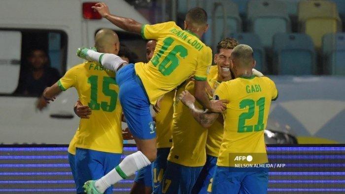 Jadwal Laga Perempat Final Copa America 2021: Brasil Berpeluang Bertemu Argentina di Final