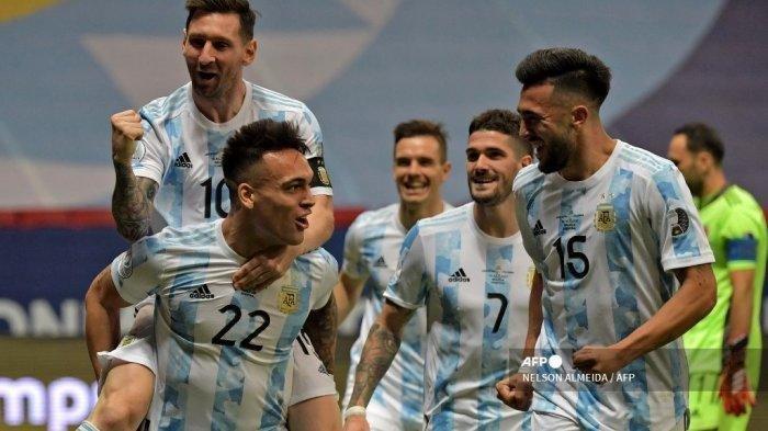 Menang Adu Penalti di Laga Lawan Kolombia, Argentina Berhasil Lolos ke Final Copa America 2021