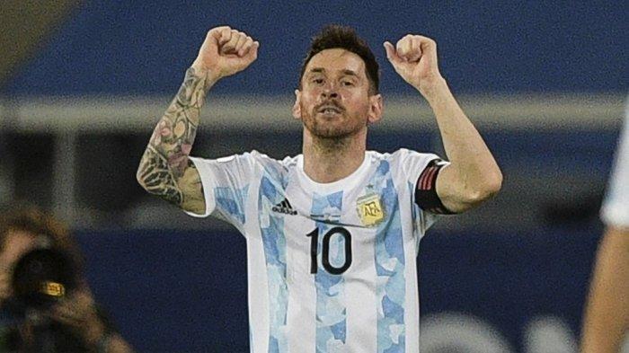 Bawa Timnas Argentina ke Perempat Final Copa America, Ini Deretan Rekor yang Diborong Lionel Messi