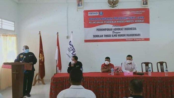 Peradi Manokwari Buka PKPA bagi Sarjana Hukum untuk Jadi Advokat