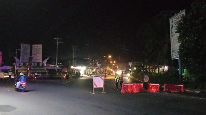 BREAKING NEWS: Aparat Gabungan Gelar Penyekatan di Pusat Kota Manokwari