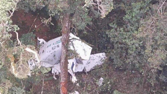 Detik-detik Pesawat Rimbun Air Jatuh di Intan Jaya, Diduga akan Landing tapi Landasan Tak Terlihat
