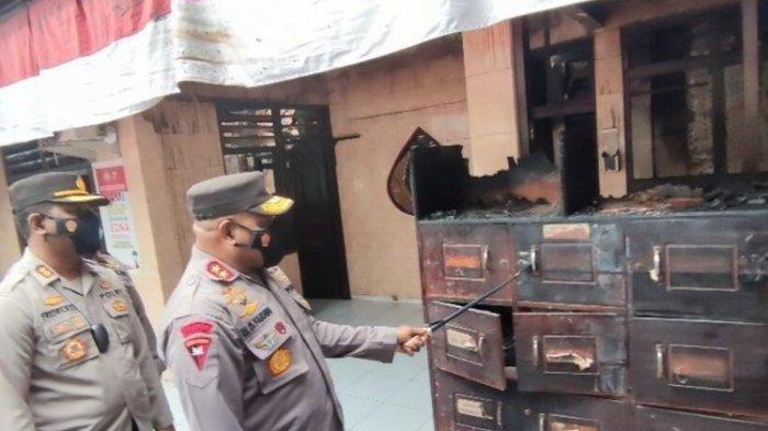 Oknum Kepala Suku Ditahan terkait Terbakarnya Polsek Bandara Sentani, Polisi: Pelaku 40 Orang