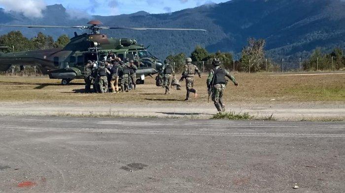 Kronologi KKB Sergap Anggota TNI yang Sedang Berpatroli di Kabupaten Puncak, Satu Personel Tertembak