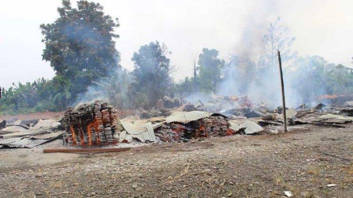 KKB Bakar 3 Rumah Warga di Yahukimo Papua, Sempat Minta Uang Sambil Lepaskan Tembakan