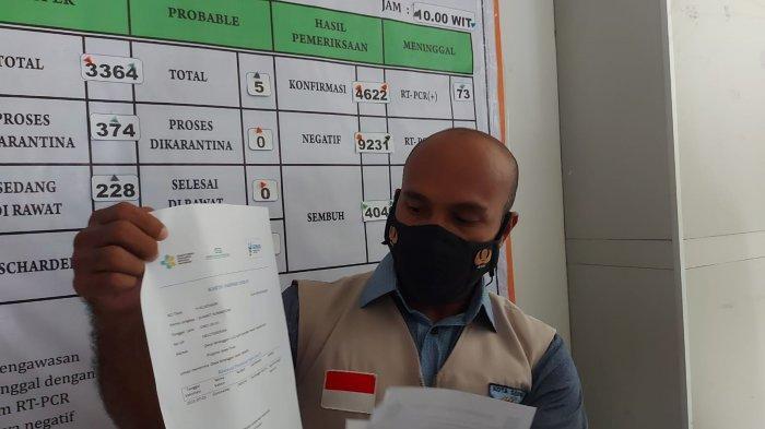 Lolos dari Jakarta, Pemilik Dokumen Palsu Diamankan Satgas Covid-19 Kota Sorong