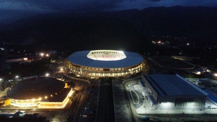 Upacara Pembukaan dan Penutupan PON XX Papua 2021  akan Digelar di Stadion Lukas Enembe