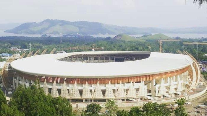 Pembukaan PON XX Papua akan Digelar di Stadion Lukas Enembe, Maksimal Jumlah Penonton 10 Ribu Orang