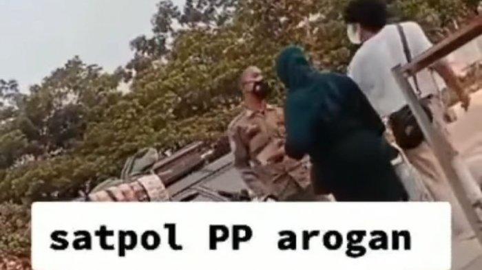Viral Video Satpol PP Cekcok dengan Pedagang saat Penertiban, Kasatpol PP Bogor Beri Penjelasan