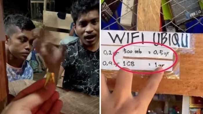 Viral Video Warga di Papua Tukar 1 Gram Emas untuk Paket Internet 1 GB, Berikut Fakta Lengkapnya