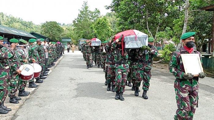 Identitas 4 Prajurit TNI yang Gugur akibat Penyerangan oleh OTK di Papua Barat