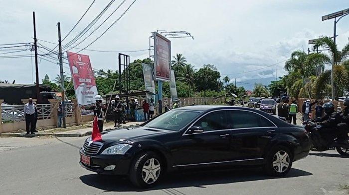 Ma'ruf Amin Tiba di Manokwari, Pengamanan di Bandara Rendani Langsung Diperketat