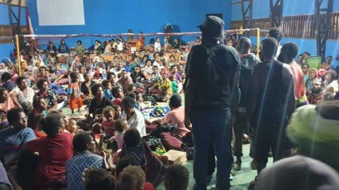 4.580 Warga Mengungsi ke Polres dan Koramil Pascakerusuhan di Yahukimo, Ini Kata Polda Papua