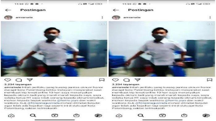 Viral Petugas Disdukcapil Palembang Ribut dengan Warga yang Urus KTP, Kini Sampaikan Permintaan Maaf