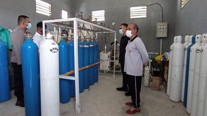 RSUD Manokwari Krisis Tabung Oksigen, Direktur: Sehari Butuh 50 tapi yang Diproduksi Hanya 15