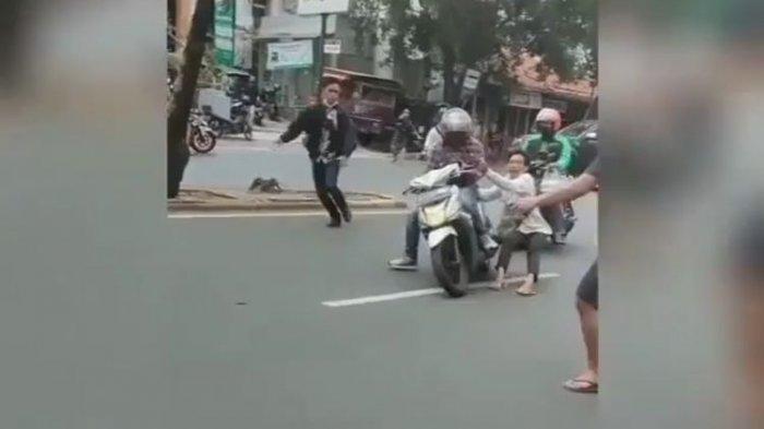 Viral Video Debt Collector Rampas dan Bawa Kabur Motor Driver Ojol, Saksi Mata Ungkap Kronologinya