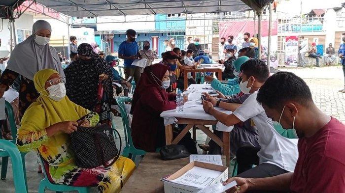 Percepat Pembentukan Herd Immunity, Pengurus Masjid At Taubah Sorong Gelar Vaksinasi Massal